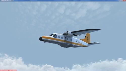 Le Dornier 228 de Carenado
