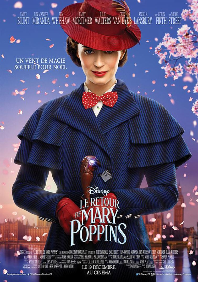 Le retrour de Mary Poppins