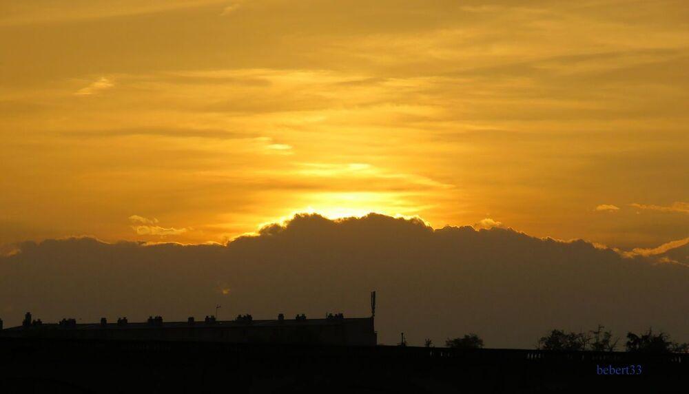 le ciel un soir à Albi