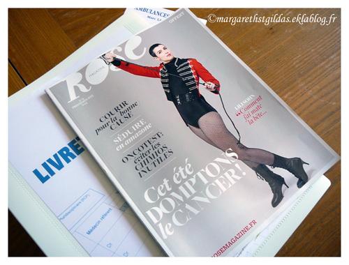 Rose, magazine gratuit pour les femmes atteintes d'un cancer;
