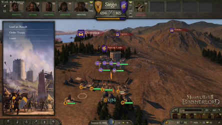NEWS : Mount and Blade 2 : Bannerlord, Siège partie 2*