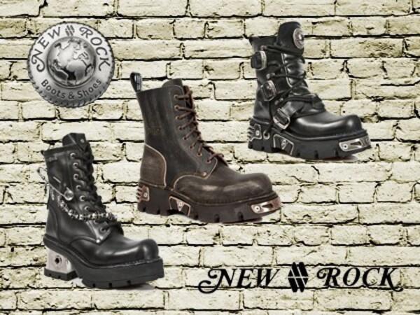 Chaussures et bottes gothiques
