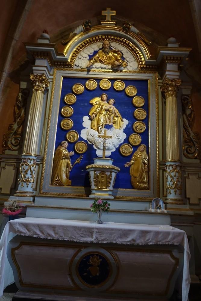 Le trou de Bozouls (2/3) : l'église Sainte-Fauste...