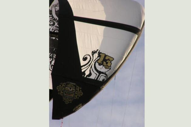 Voile de kite-surf