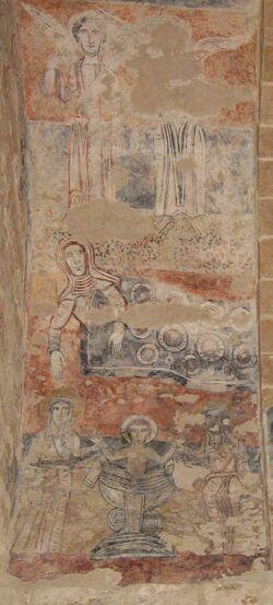 Les fresques de l'Eglise de Vals