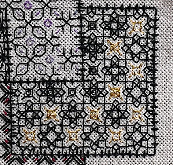 Blackwork journey - bloc 3 suite et fin