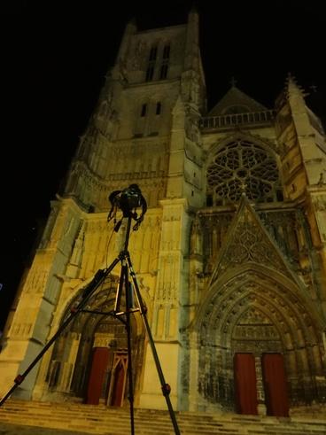 17 Août 2012 : Filé d'étoiles sur la cathédrale de Meaux
