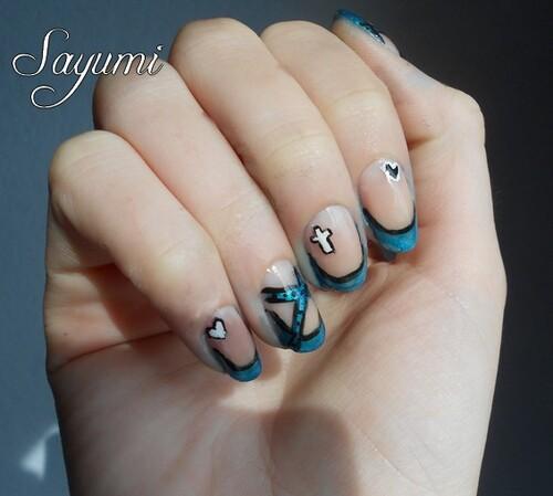Nail Art Rock