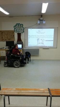 """Témoignage à l'école """"Marcel Pagnol de Mazé le 11/01/2016"""