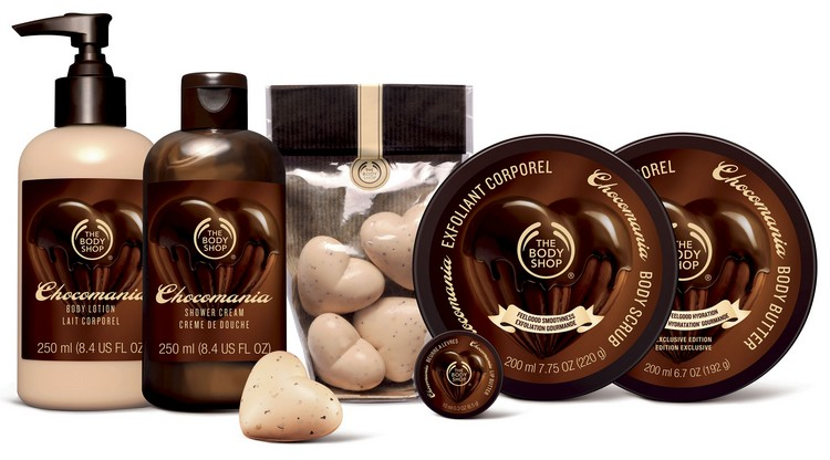 ღ Chocomania, la gamme gourmande de The Body Shop