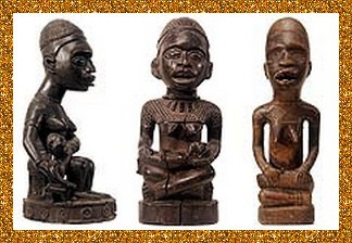 statuettes yombe