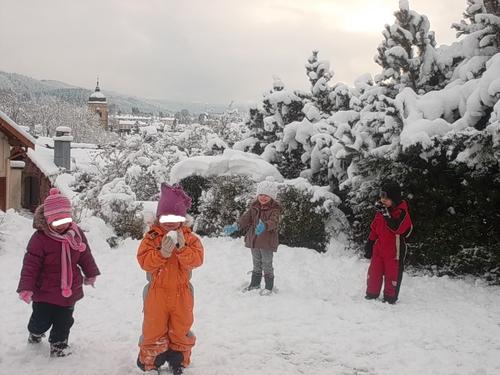 Il a neigé sur Pontarlier