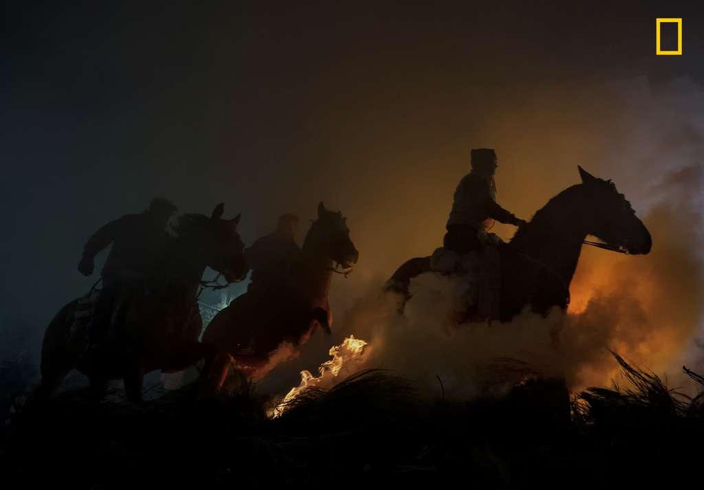 « Chevaux », 3e place catégorie Personnes. © José Antonio Zamora, 2019 National Geographic Travel Photo Contest
