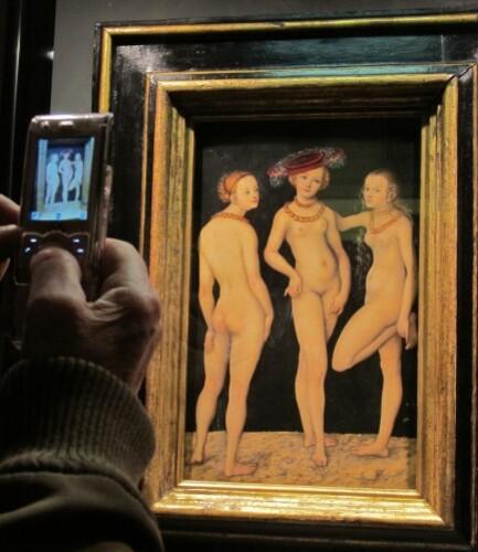 Cranach Trois Grâces Louvre 5