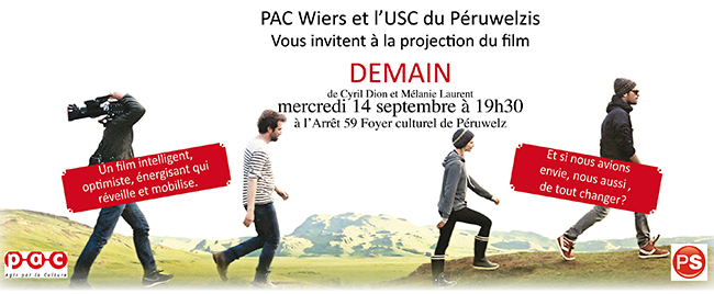 Projection du film « Demain », à Péruwelz