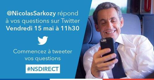Nicolas Sarkozy : victime d'un coup de foudre sur Twitter...