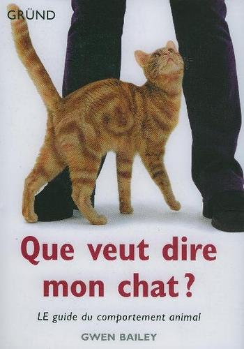 Le guide du comportement animal :