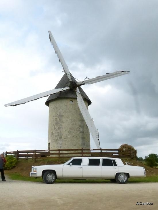 Le moulin à vent de Jonzac