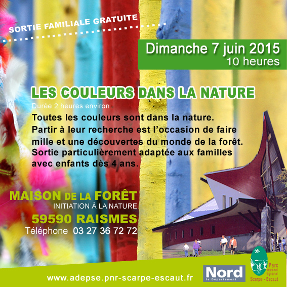 Les couleurs dans la nature, le 7 juin à Raismes