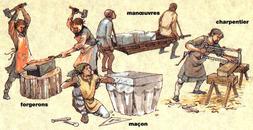artisans moyen age