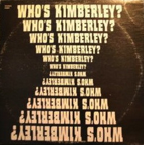 "Kimberley Briggs : Album "" Who's Kimberley "" Kimbrig Records KS001 [ US ]"