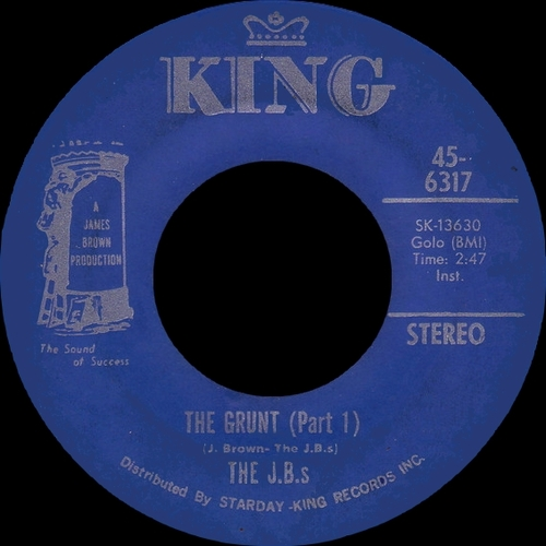 The J.B.s : Single SP King Records 45-6317 [ US ]