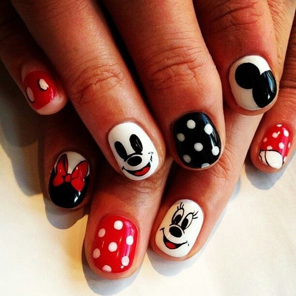 Simple Nail Art Designs for Short Nails (52)