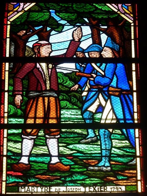 Le martyre de François-Joseph Texier....