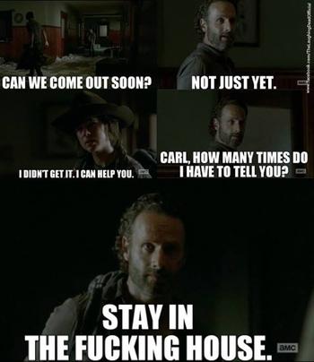 The Walking Dead season 4 Memes 10
