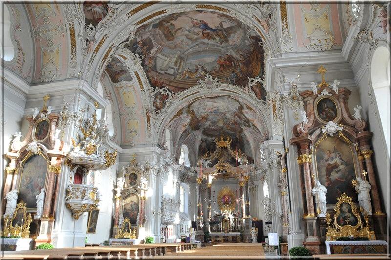 Innsbruck : la basilique Notre-Dame des Quatre-Colonnes