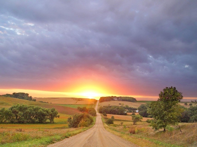 golden_sunset_at_the_end_of_country_road