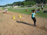 Première séance de triple saut