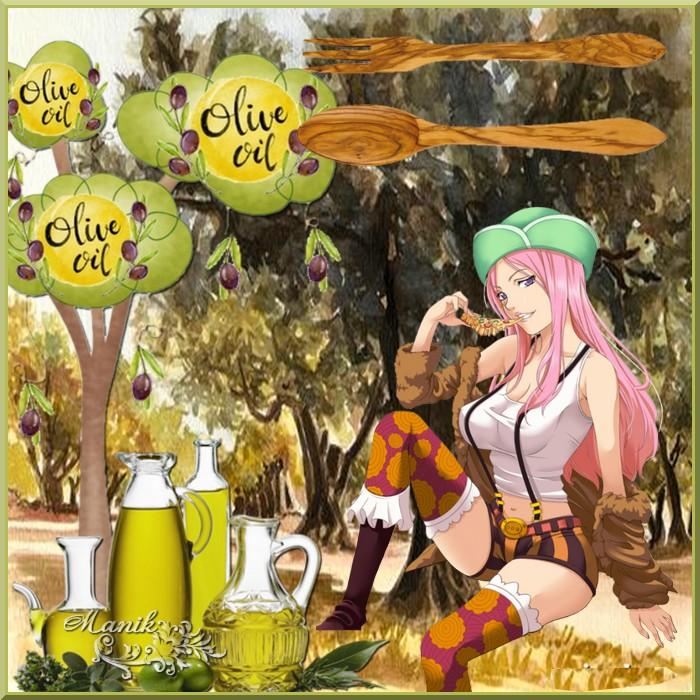 Défi cluster Olives pour Cerise déco !