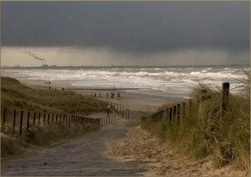 La mer du nord...