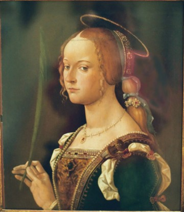 Sainte Justine, bénédictine en Toscane († 1319)