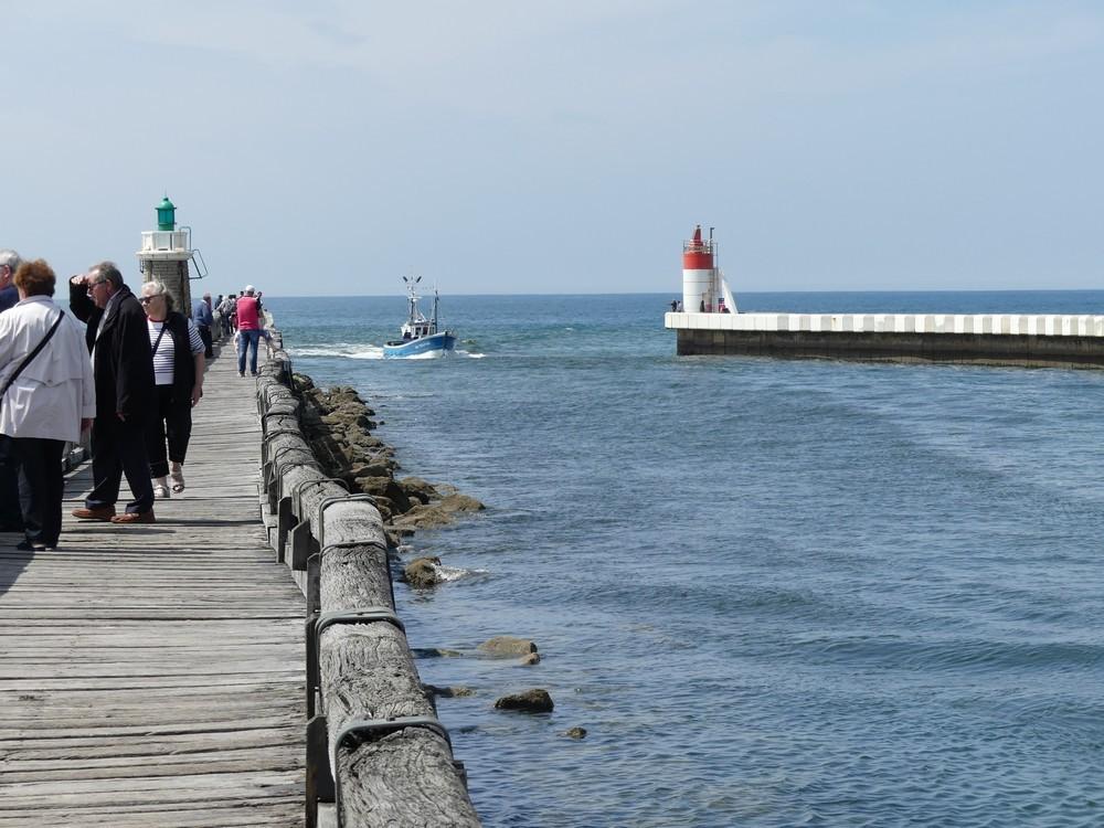 L'Estacade à Cap-Breton...