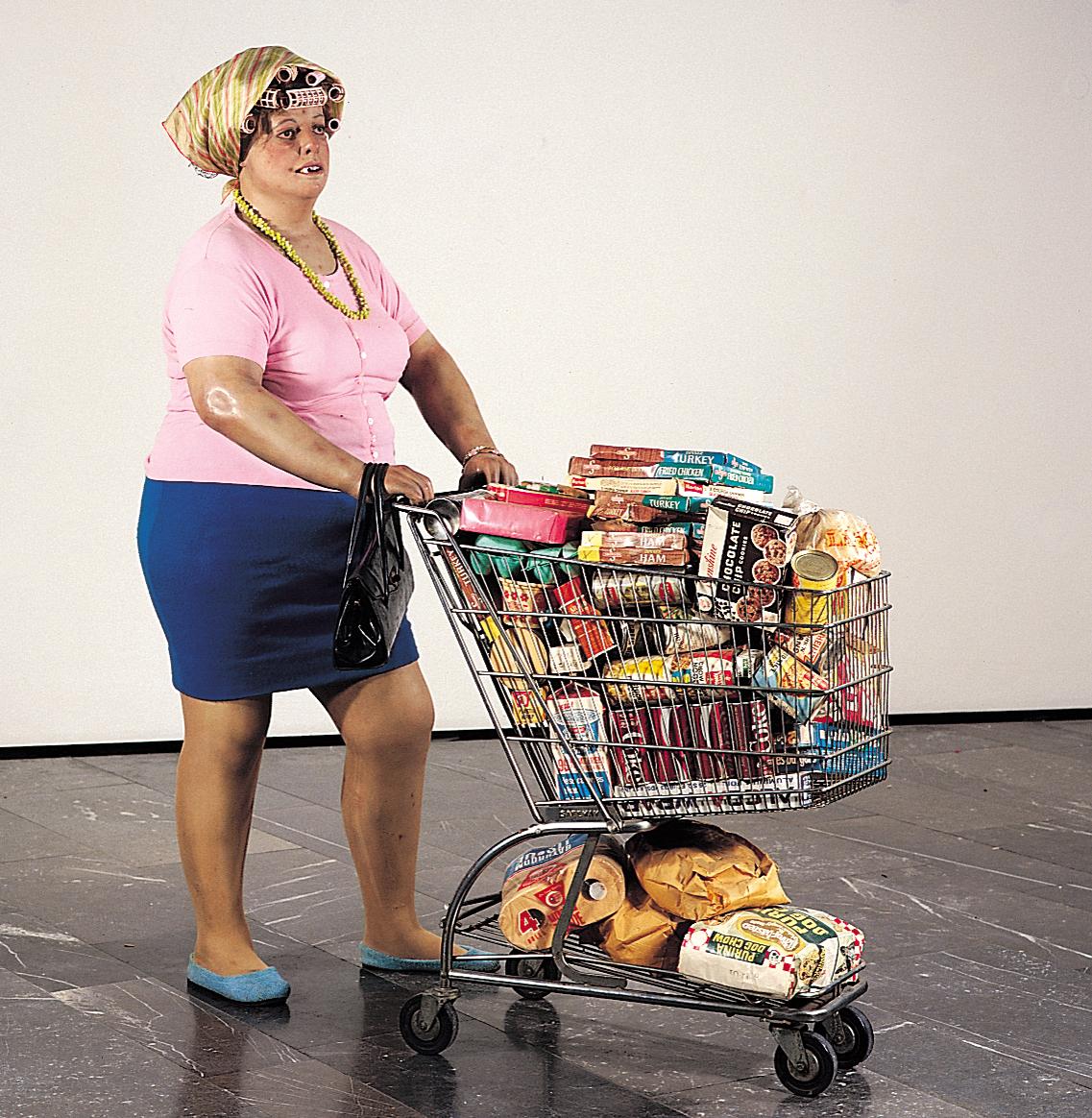 supermarket lady analyse