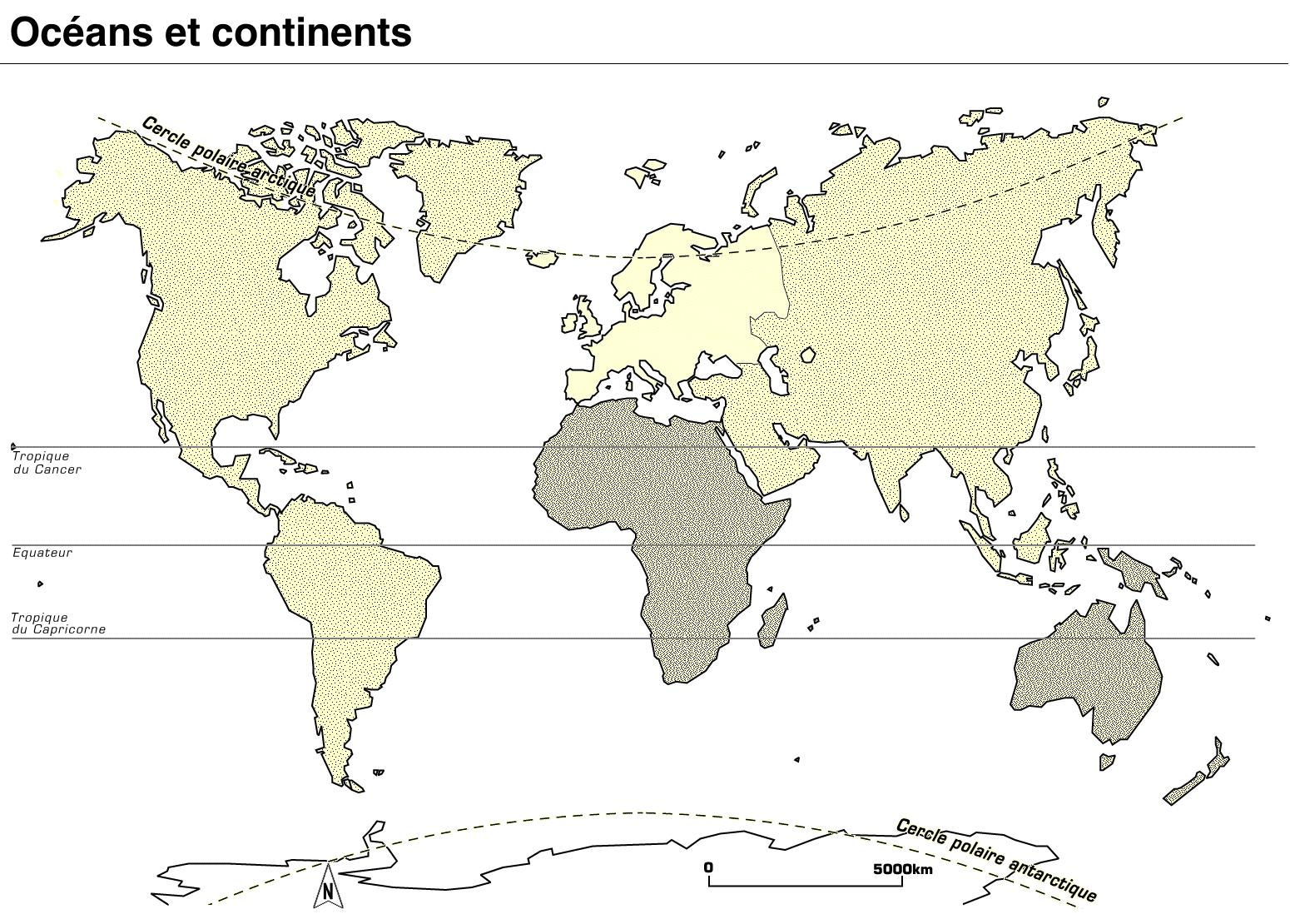 Super Océans et continents - Les trouvailles de Karinette XL12