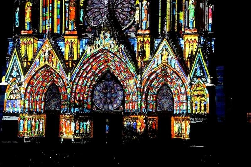 En attendant ce soir , marché de Noël hier Reims !