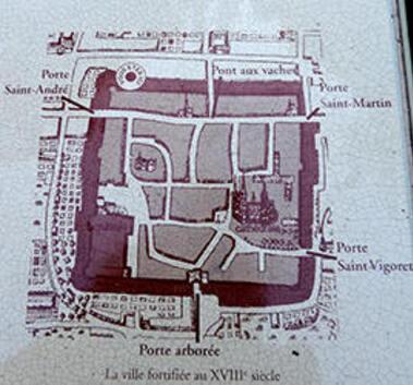 LES REMPARTS DE BAYEUX (Calvados)