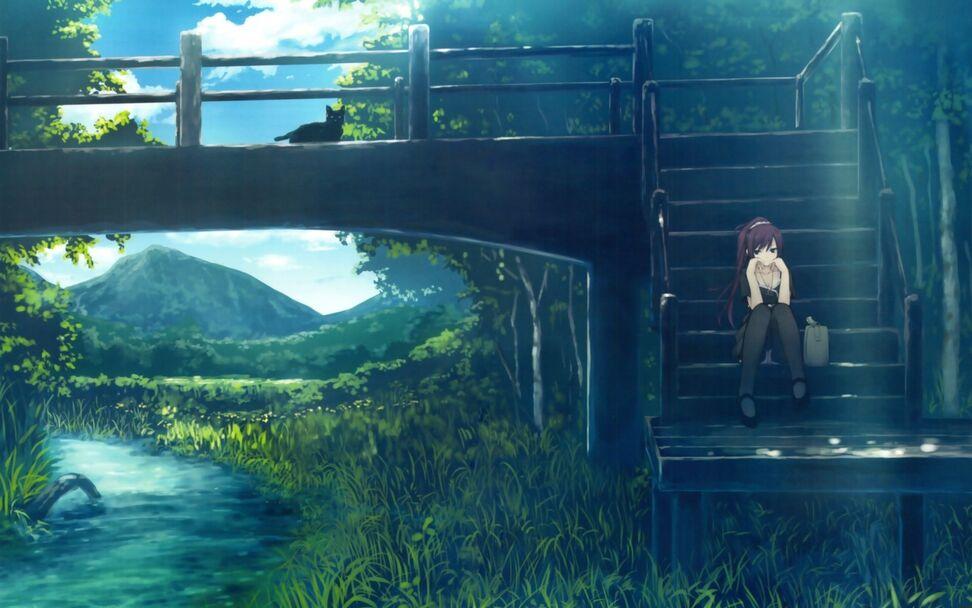 """Résultat de recherche d'images pour """"bridge anime"""""""