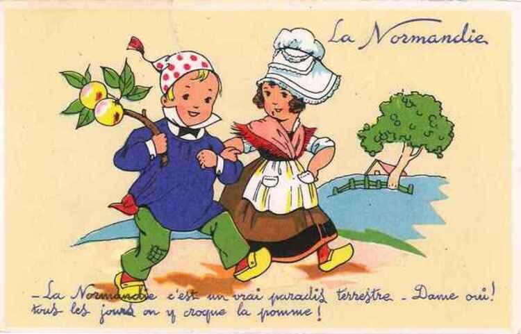 CHANTOU COCCINELLE : Vive ma Normandie natale