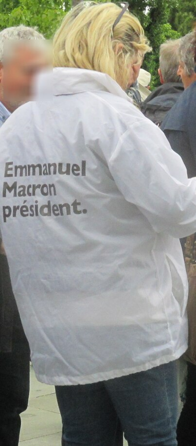 En mégalomanie, En marche, en macron