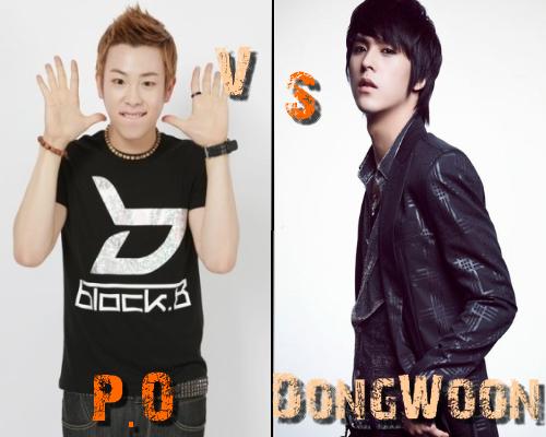P.O (Block B) vs Dong Woon (B2ST) - Round 10