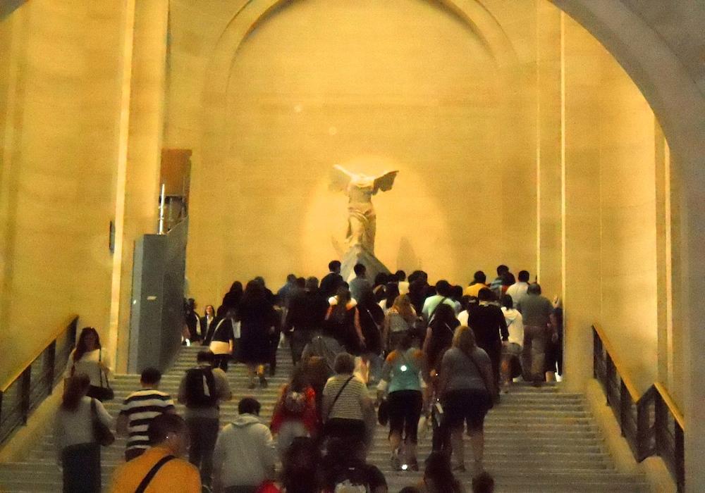 Le Louvre(2)quelques tableaux dont le plus célèbre ...La Joconde