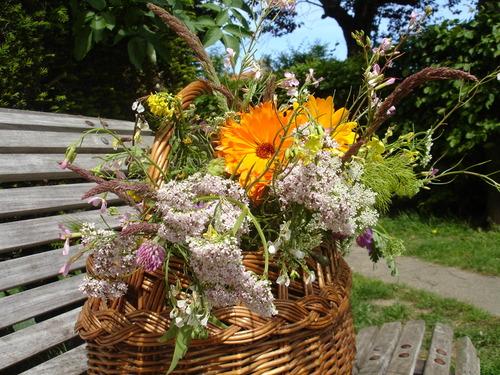 28 mai '14 - Mon panier du jour (20 mai): un bouquet pour la maison