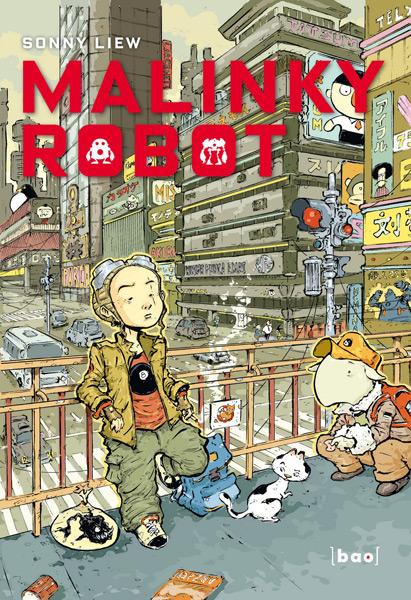 Sonny Liew, Malinky Robot