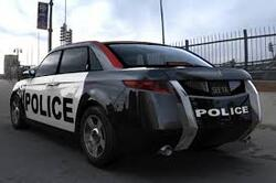 Voitures  de  Police