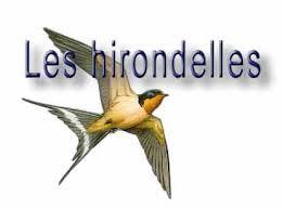 """Les hirondelles"" ..."