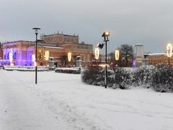 Début janvier sous la neige... un régal !
